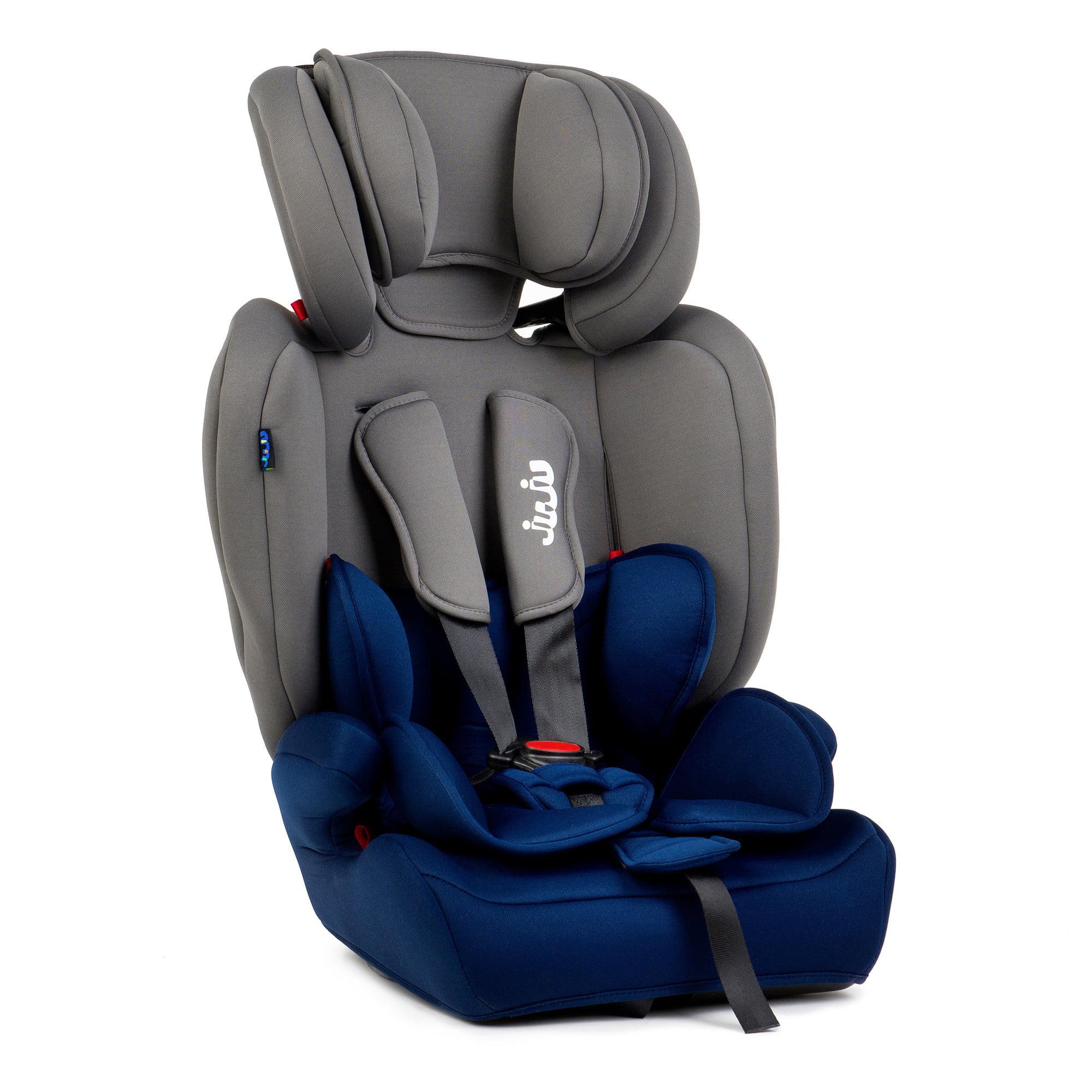 Scaun Auto Juju Safe Rider, Gri-Bleumarin